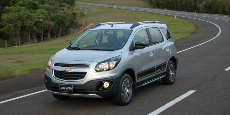 Chevrolet Spin Activ Familia Aventurera